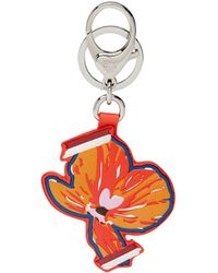 MCM - Victory Flower Charm In Leather - Lyst