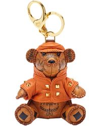MCM - City Bear Animal Charm - Lyst