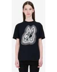 """McQ - """"bunny Be Here Now"""" Classic T-shirt - Lyst"""