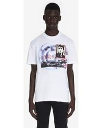 5f440a87 Urban Outfitters Elvis Shaving Tee in White for Men - Lyst