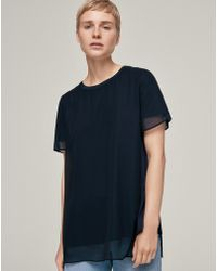 ME+EM | Double Layer Swing Top | Lyst