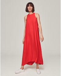 ME+EM - Halterneck Summer Dress - Lyst