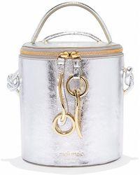 meli melo - Severine | Bucket Bag | Silver - Lyst