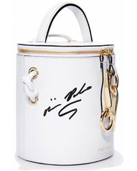 meli melo - Op Hue Severine | Bucket Bag | Bianca White Signed By Olivia Palermo - Lyst