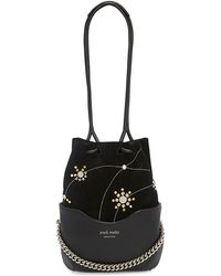 meli melo - Hetty | Cross Body Bag | Black Eclipse - Lyst