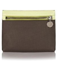 meli melo - Oversized Wash Bag | Elephant Grey - Lyst