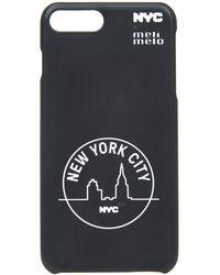 meli melo - Nyc Phone Case | 6plus , 6splus, 7 , 8, 7plus , 8plus, X , Xs | Black - Lyst