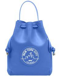 meli melo - Nyc Briony | Mini Backpack | Bronx Blue - Lyst