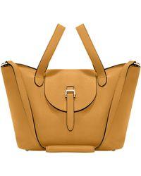 meli melo - Thela Medium | Tote Bag | Golden Hour - Lyst