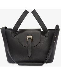 meli melo - Thela Mini Cross Body Bag Black - Lyst