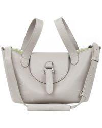 meli melo - Thela Mini | Tote Bag | Taupe And Apple - Lyst