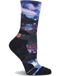 Merrell - Lake Blooms Printed Crew Sock - Lyst
