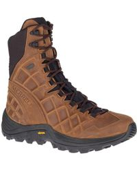 """Merrell - Thermo Rogue 8"""" Leather Waterproof Ice+ - Lyst"""