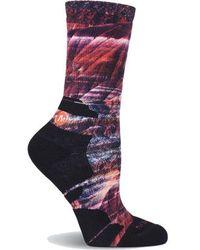 Merrell - Striation Printed Crew Sock - Lyst