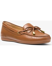 f2e330802aa MICHAEL Michael Kors - Sutton Leather Moccasin - Lyst