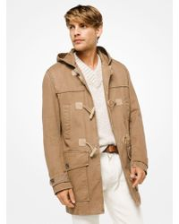 Michael Kors - Cotton-twill Duffle Coat - Lyst