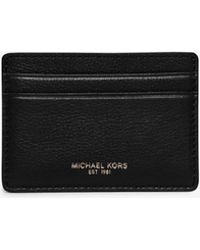 Michael Kors - Bryant Leather Card Case - Lyst