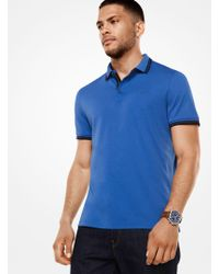 Michael Kors - Greenwich Cotton Polo Shirt - Lyst
