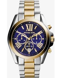 Michael Kors - Bradshaw Two-tone Watch - Lyst