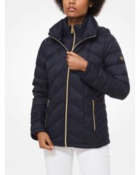 Michael Kors - Quilted Nylon Packable Hooded Puffer Jacket - Lyst