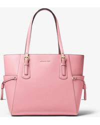 Michael Kors - Voyager Crossgrain Leather Tote - Lyst