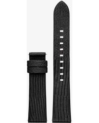 Michael Kors - Sofie Embossed-leather Smartwatch Strap - Lyst