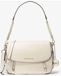 MICHAEL Michael Kors - Bedford Legacy Medium Pebbled Leather Shoulder Bag - Lyst