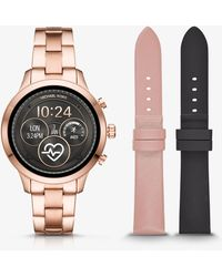 Michael Kors - Access Runway Watch Set - Lyst