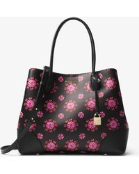 Michael Kors - Mercer Gallery Large Jewel-print Tote - Lyst