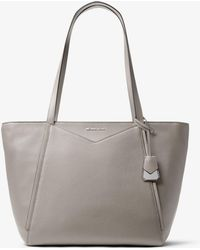 0af467a817d661 Michael Kors - Whitney Large Leather Tote Bag - Lyst