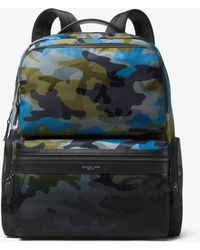 Michael Kors - Kent Camouflage Cargo Backpack - Lyst