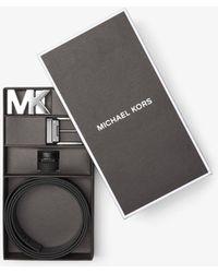 Michael Kors - Four-in-one Logo Belt Box Set - Lyst