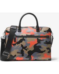 Michael Kors - Harrison Medium Camouflage Briefcase - Lyst