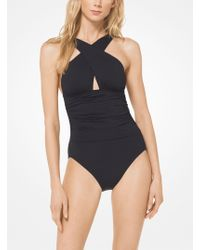 Michael Kors - Cross-front Maillot - Lyst