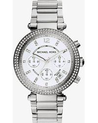 Michael Kors - Mk5353 Parker Watch Silver-tone - Lyst