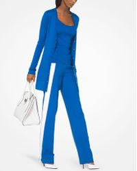 Michael Kors - Featherweight Tropical Cashmere Pullover - Lyst