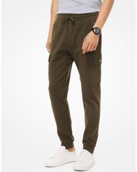 Michael Kors - Jogger cargo in tessuto ponte - Lyst