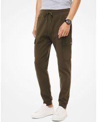 Lyst - Pantalón deportivo de neopreno Michael Kors de hombre de ... 7ac662b2a70f