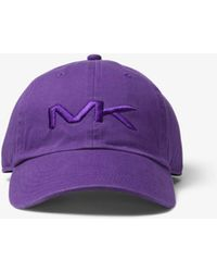 Michael Kors - Logo Cotton Baseball Hat - Lyst