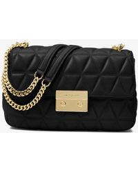 Michael Kors - Sloan Large Quilted-leather Shoulder Bag - Lyst