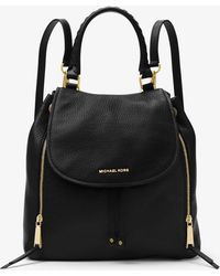 Michael Kors - Viv Large Leather Backpack - Lyst