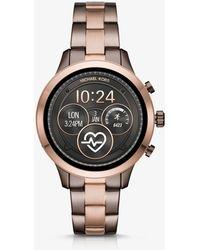 Michael Kors Runway Heart Rate Two-tone Smartwatch