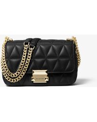 Michael Kors Sloan Small Quilted Leather Crossbody Bag