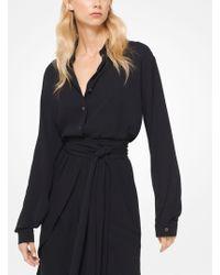 Michael Kors - Silk-georgette Shirt - Lyst