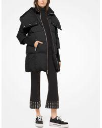 Michael Kors - Nylon Oversized Puffer Jacket - Lyst