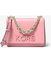 004eb914526b Michael Kors Mott Large Embellished Patchwork Leather Crossbody Bag ...