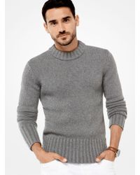 Michael Kors - Cashmere Ribbed Pullover - Lyst