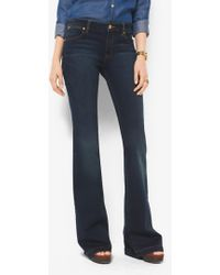 Michael Kors - Selma Stretch-denim Flares - Lyst