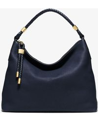fc66edb73075 Michael Kors - Skorpios Large Pebbled Leather Shoulder Bag - Lyst