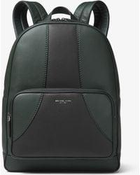 5b9176c4a74dc9 Michael Kors - Bryant Medium Retro Pebbled Leather Backpack - Lyst
